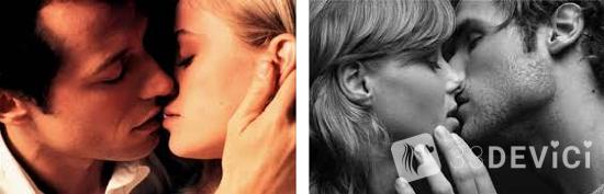 Значення поцілунків: техніки і види поцілунків в різні частини тіла