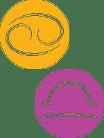 Сумісність Рак і Терези: точки дотику і конфлікти