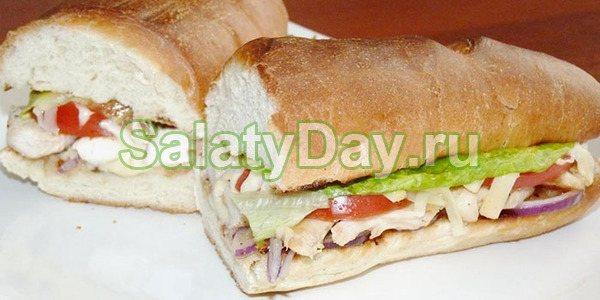 Бутерброд з овочами