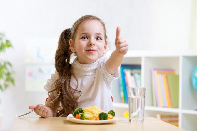 Чим не можна годувати дитину з ГРВІ