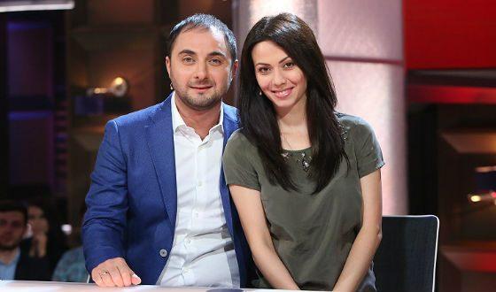 Деміс Карібідіс з дружиною Пелагією