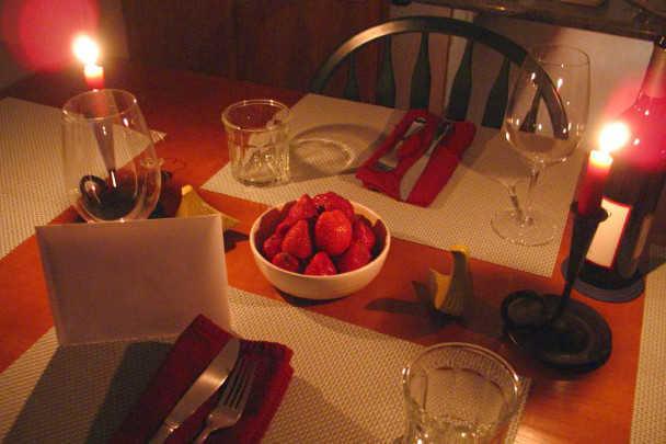 Романтична вечеря: на що звернути увагу при підготовці