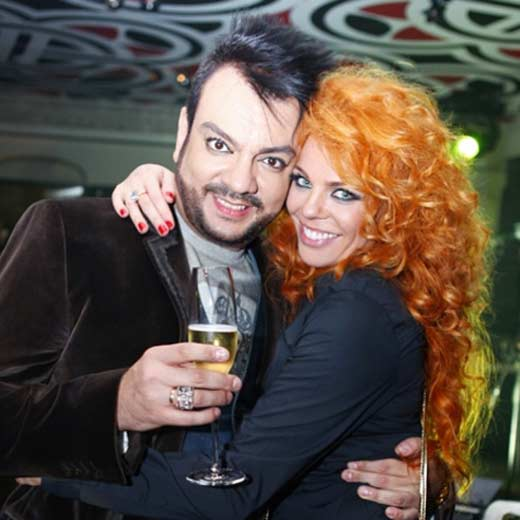 Філіп Кіркоров та Анастасія Стоцька
