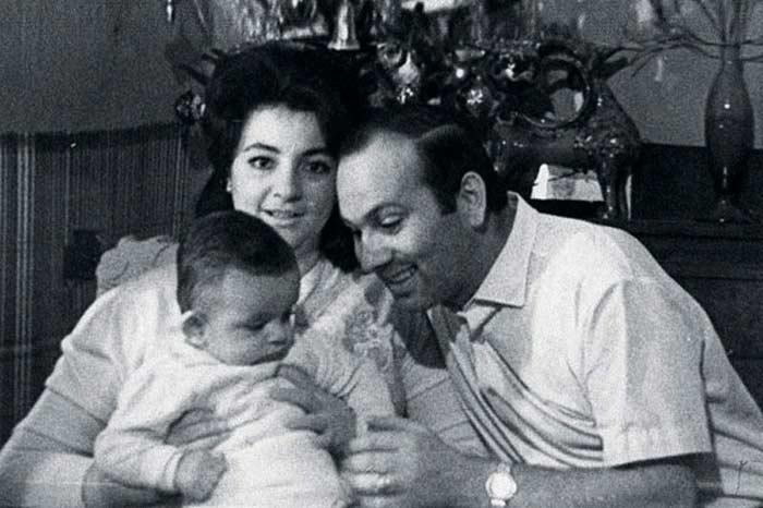 Філіп Кіркоров з батьками
