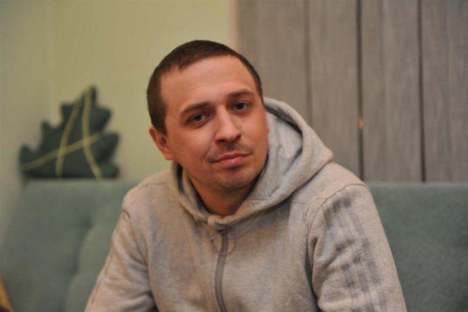 Фото Олег Верещагін з Камеді Вумен