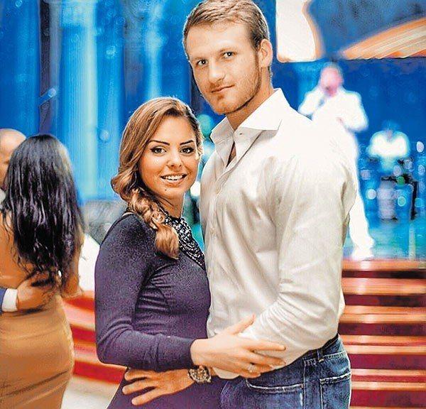 Іван Телегін з колишньою дружиною