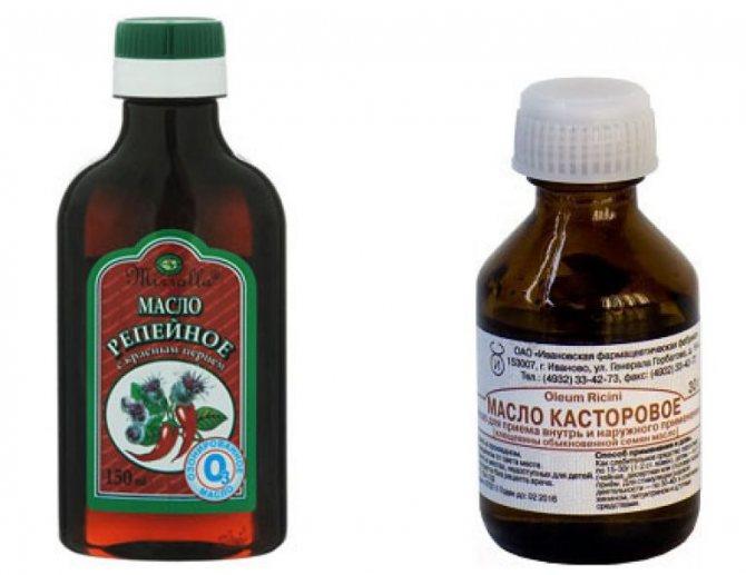 Як зняти вії з використанням жирних олій