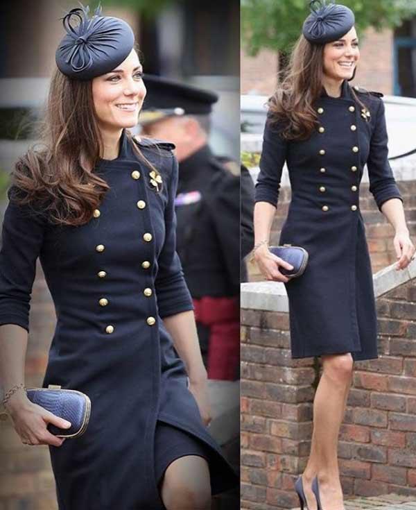 Кейт Міддлтон, герцогиня Кембриджська - акцент на капелюшках