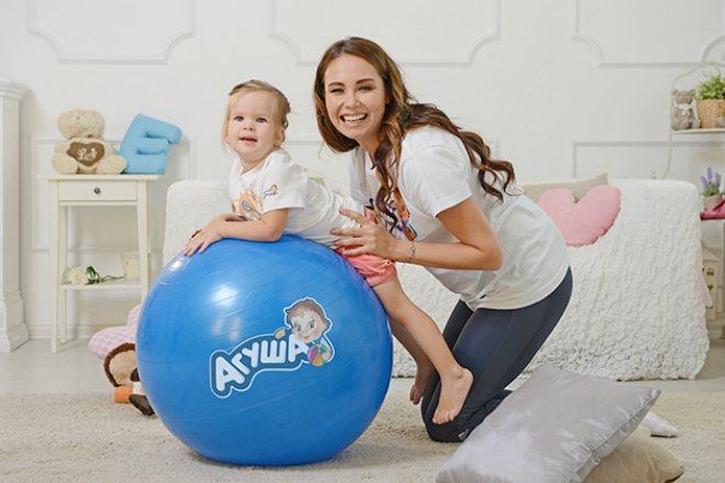 Ляйсан Утяшева з дочкою