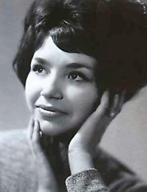 Людмила Вьюнкова (Малікова) в молодості