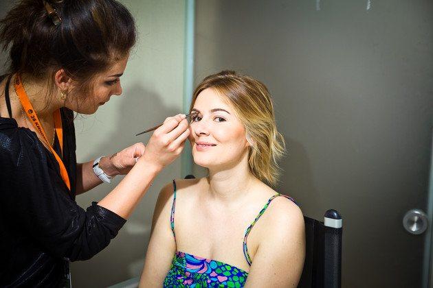 Марія Кожевнікова вирішила відмовитися від макіяжу, але колеги її не зрозуміли