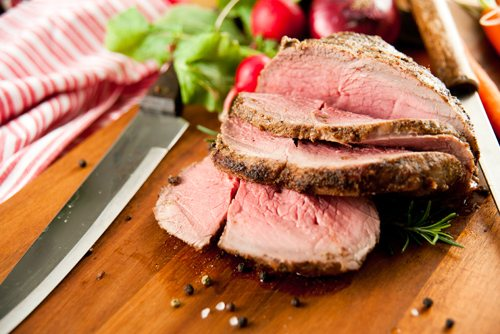 М'ясо у фользі в духовці