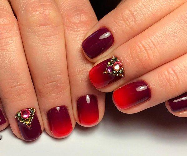 омбре дизайн нігтів