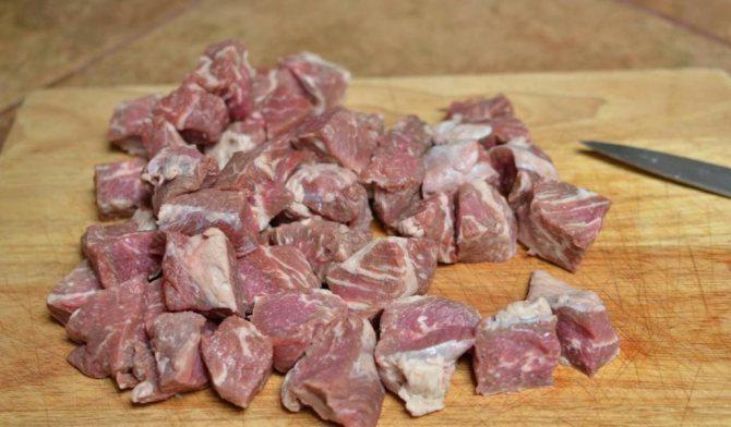 підготовка яловичини