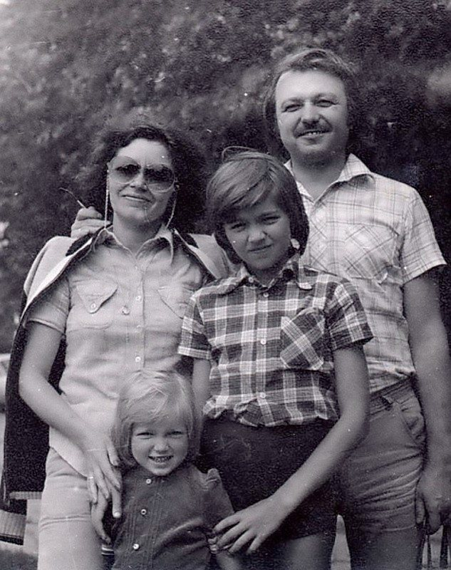 Сім'я Малікових в 80-і роки