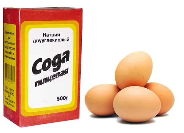 Сода з яйцем