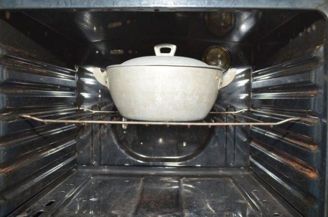 ставимо в духовку